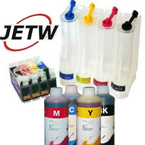 Bulk-ink Tx115 Tx105 T23 T24 1171r C/ Chip Full + Tinta