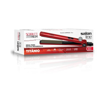 Chapa Prancha 410º Scarlet Titanium Ions Negativos