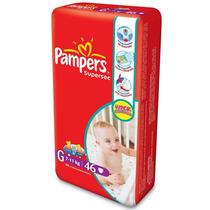 Fralda Pampers Supersec Hiper G
