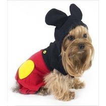 Roupa Cachorro Mickey Raças Pequenas Pet Lord