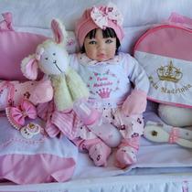 Bebê Reborn Boneca Real Barata Princesa+bolsa Maternidade