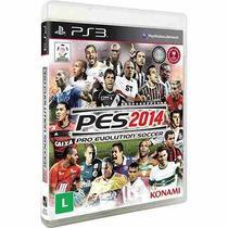 Pes 2014 - Pro Evolution Soccer 14 - Ps3 - Original Lacrado
