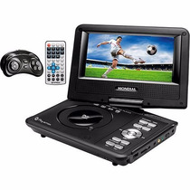 Dvd Player Portátil Mondial Play Action Tela 7 D-08