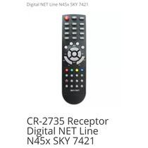 Controle Remoto Para Receptor Digital Netline N45x