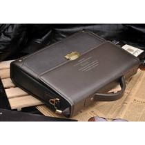 Bolsa Pasta Couro Social Polo Zefer Grande Cabe Notebook 15