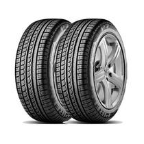 Jogo De 2 Pneus Pirelli P7 195/65r15 91v