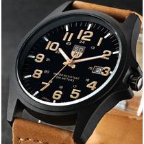 Relógio Masculino Homens Negócios À Prova D Água Luxo Moda
