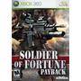 Soldier Of Fortune Payback Xbox 360 Mídia Física Lacrada