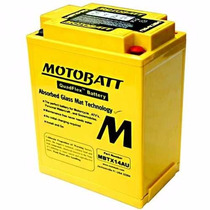 Bateria De Gel Motobatt Mbtx14au Honda Cb 750