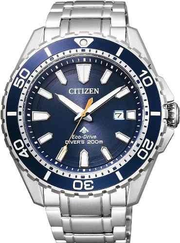 51bd6dd1613 Relógio Masculino Citizen Bn0191-55l Diver Eco Drive Azul. R  2631.14