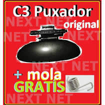 Kit Puxador Do Porta Luva Do Citroen C3 + Mola Original C3