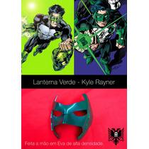 Lanterna Verde - Green Lantern (kyle) - Máscara - Cosplay