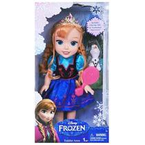 1036 Disney Frozen Boneca 15 Luxo Anna Com Pente