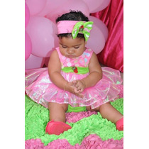 Fantasia Moranguinho Baby (feito Sob Encomenda)