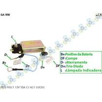 Regulador Voltagem 55a Veiculos Alternador Lucas - Gauss