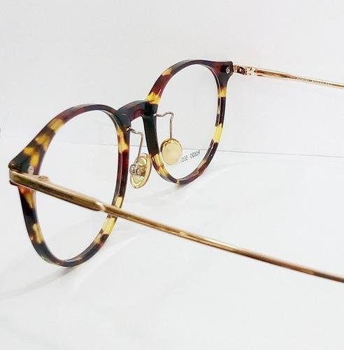 68514ed177018 Óculos Armação De Grau Feminino Redondo Geek Metal C  Brinde. Preço  R  75  Veja MercadoLibre