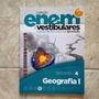 Livro Coleção Enem & Vestibular Geografia 1- Dvd Videoaula