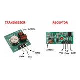 Módulo Rf Transmissor Receptor 433mhz Arduino