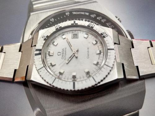 9d414943916 Relógio Omega Geneve Diver Antigo Aço Maciço