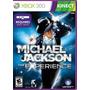 Kinect Michael Jackson Experience  Mídia Fisica   Xbox 360
