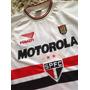 Camiseta São Paulo Spfc 2001 Motorola Penalty #9