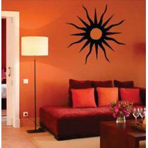 Adorno Decorativo De Parede Sol E Lua - Por Do Sol + Frete