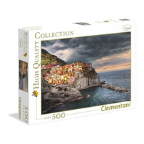 Quebra Cabeça Clementoni 500 Peças Manarola Cinque Terre