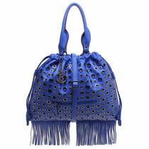 Bolsa De Ombro Saco Franjas - Azul - 4050010001004