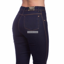 9d775aaf7 Calça Jeans Feminina Cintura Alta Hot Pants C/ Lycra à venda em ...