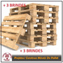 100 Projetos Construa Móveis Pallet Envio P E-mail +3brindes
