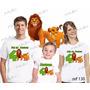 Lembrança De Aniversario O Rei Leão Kit Com 3 Camisetas