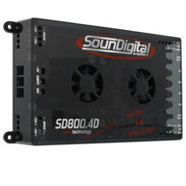 Modulo Soundigital Evolution Sd 800.4d Sd800 4 800w Rms Som