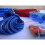 Kit Instalação Som Automotivo Rca 5mts+cabo Energia+fusivel