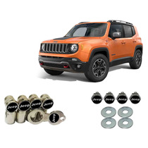 Kit Parafuso De Placa + Bico Pneu Antifurto Jeep