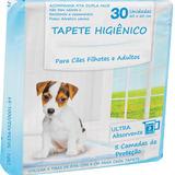 Tapete Higiênico P/ Cães 2 Pacotes 60 Unidades 60x60 Fita