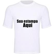 Camiseta Personalizada Kit 2 Unidades