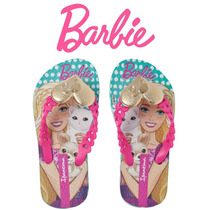 Chinelo Barbie Pop Glam Ipanema Rosa 25906