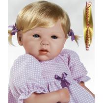 Pocket Boneca Bebê Realista Tipo Reborn E Adora Dolls