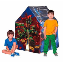 Barraca Tartarugas Ninja Multibrink Casinha Criança Quartel