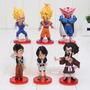 Action Figure Boneco Dragon Ball Goku Vegeta Gohan Videl Dbz