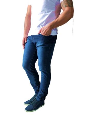 6edcf8175 Kit C  4 Calça Jeans Sarja Masculina Skinny Lycra Colorida