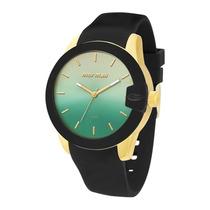Relógio Feminino Mormaii Mauí Mo2035bd8v - Preto / Doura...