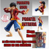 Action Figure Boneco - One Piece - Luffy Megahouse Bootleg
