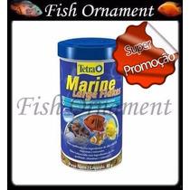 Ração Tetra Marine Large Flakes 80g Fish Ornament