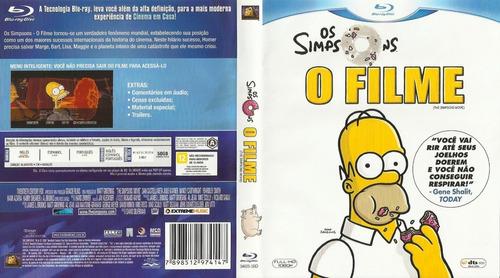 Os Simpsons - O Filme - Blu-ray Original Lacrado