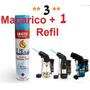 3 Mini Maçarico + Refil De Gás Oferta