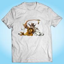 Camisa Madagascar Desenho Animado Filme Tv Personalizada