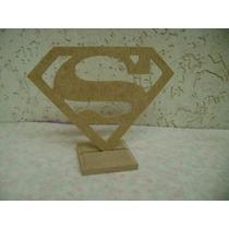 13 Pçs Enfeite De Mesa Superman,super Homem Mdf