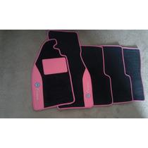 Tapetes Automotivos Personalizados Fusca Tuning Rosa
