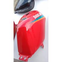 Tanque Moto Altino Vermelho 125 11litros Novo Cg Ml Ybr